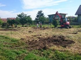 Úprava stavební plochy Olomouc – Slavonín