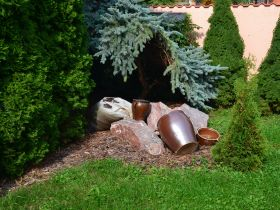 Okrasné kameny do zahrady