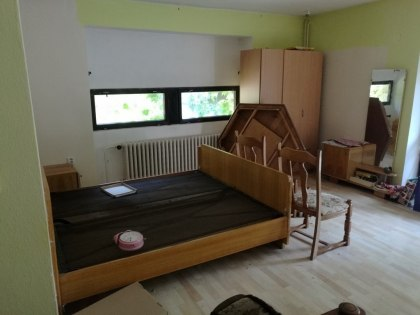 Vyklízení objektů Olomouc - pokoj