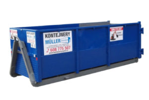 Chodníkový kontejner 3 m3