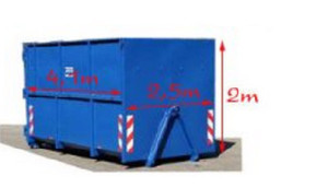 Rozměry kontejnerů